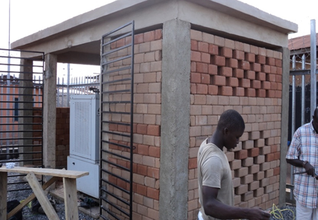 60nos,–BTS Brick Houses, Ghana. (60 Locations Across The Country)